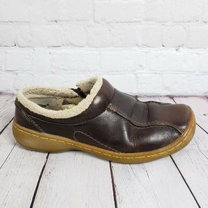 Dr. Martens Leather Slip On Lined Shoes